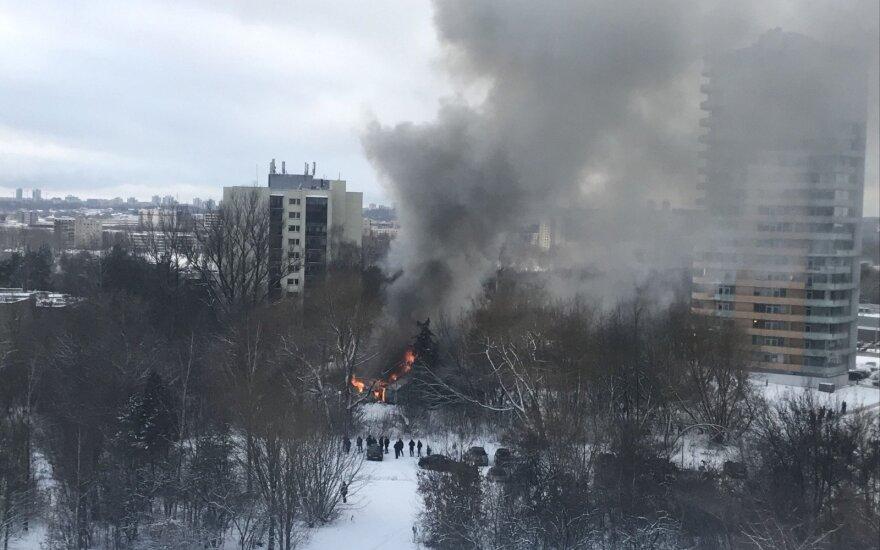 В Вильнюсе сгорел еще один заброшенный дом