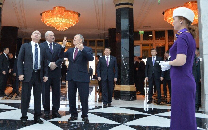 Vladimiras Putinas, Aleksandras Lukašenka, Nursultanas Nazarbajevas