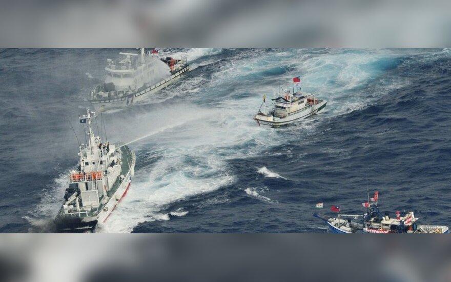Японцы победили тайваньцев водяными пушками