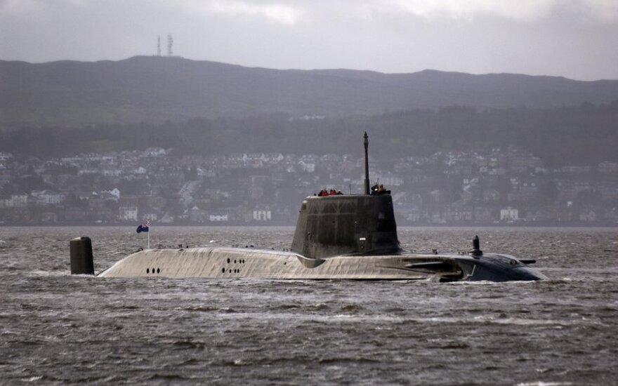 Britanijos povandeninis laivas