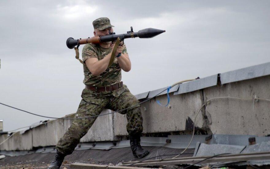 Украина: боевики захватили воинскую часть в Луганске