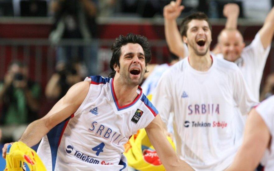 В Шяуляй сербы победили итальянцев