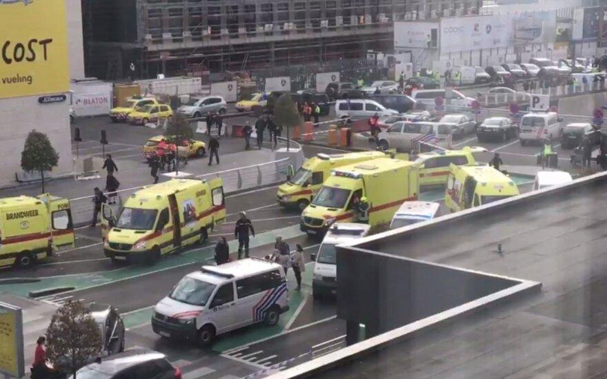 Puste niebo nad Brukselą po ataku terrorystycznym