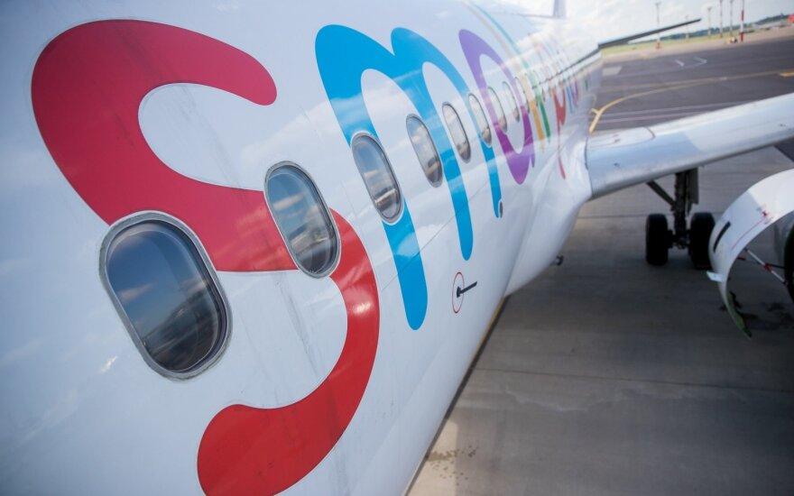 Одному из самолетов Small Planet Airlines запрещено покидать Вильнюс