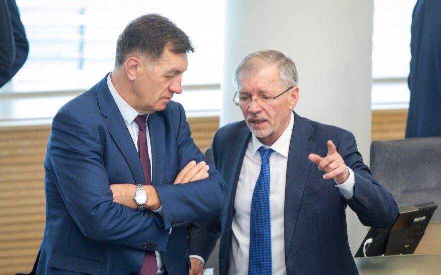 Algirdas Butkevičius, Gediminas Kirkilas