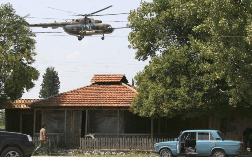 Rusų sraigstasparnis Abchazijoje