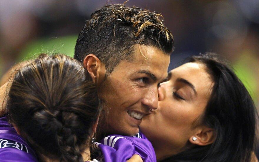 Christiano Ronaldo ir Georgina Rodriguez