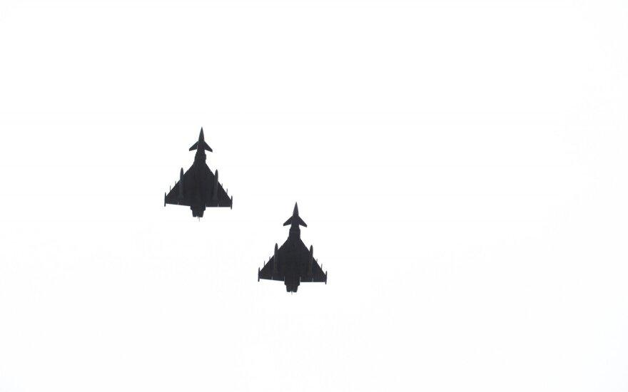 За неделю истребители НАТО трижды поднималась в небо для сопровождения самолетов ВВС РФ