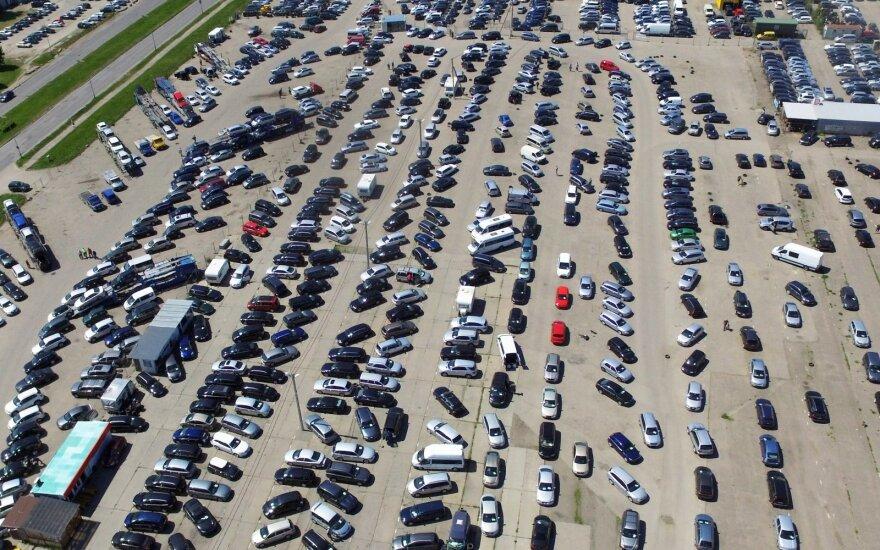 Рынок подержанных автомобилей в Литве сократился на 22,8%