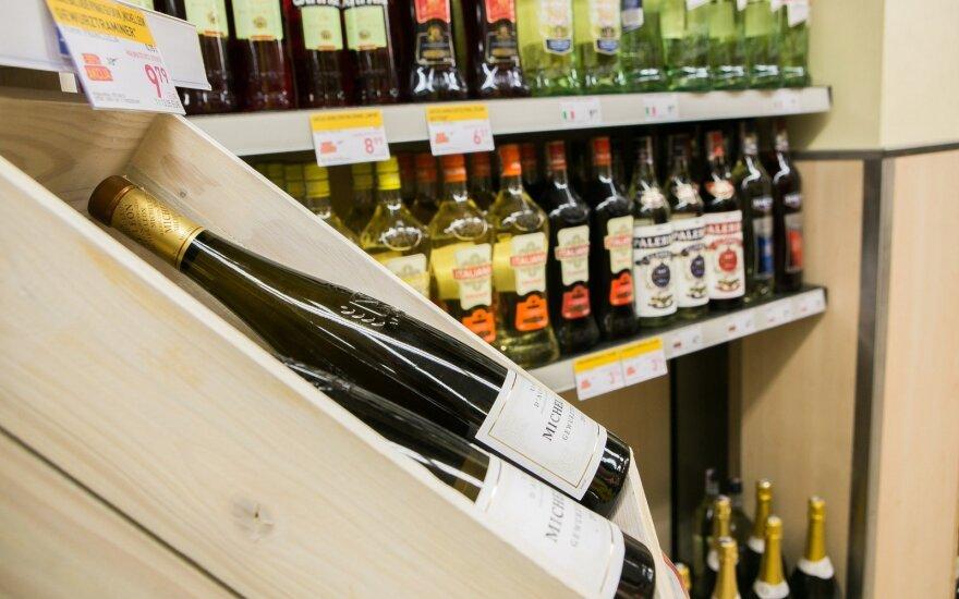 В январе продажи алкоголя достигли давно невиданных высот