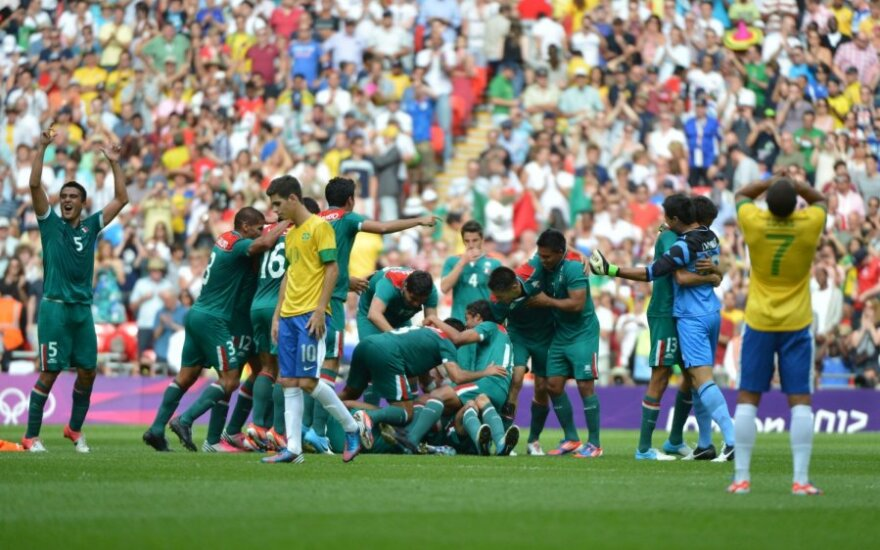 Meksikos olimpinės futbolo rinktinės triumfas