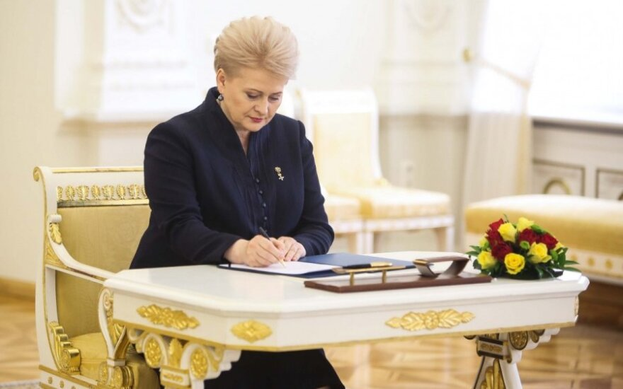 Dalia Grybauskaitė: Nowe sankcje względem Rosji już gotowe