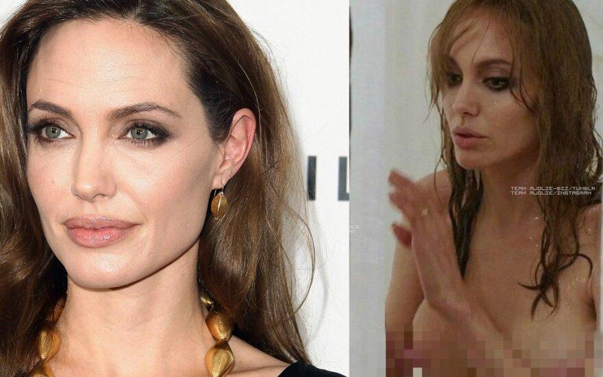 ФОТО: Анджелина Джоли сделала три новых тату