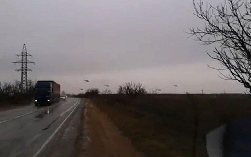 Wojskowe śmigłowce na Krymie. Sytuacja zaostrza się