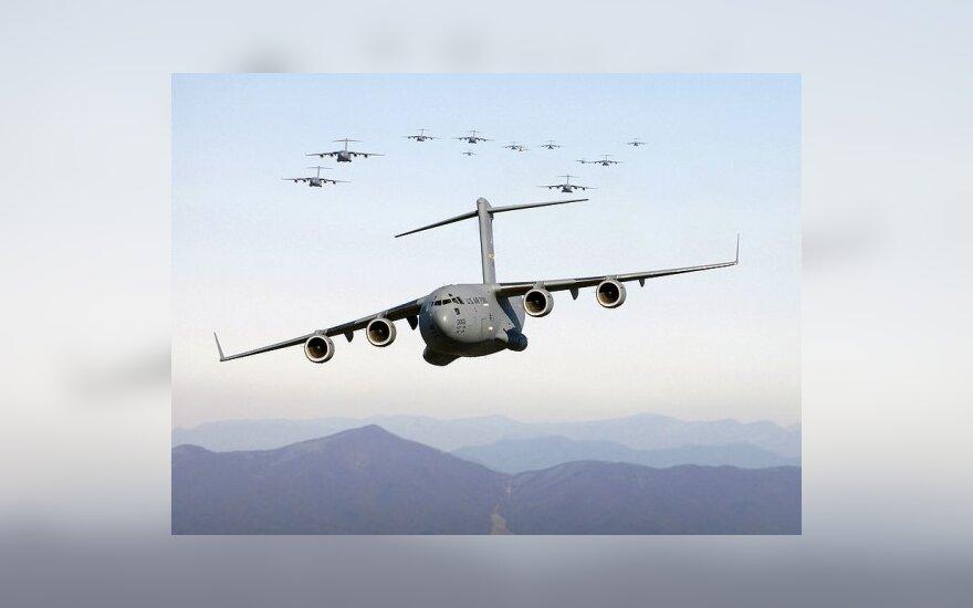 ВВС Индии принудительно посадили военный самолет США