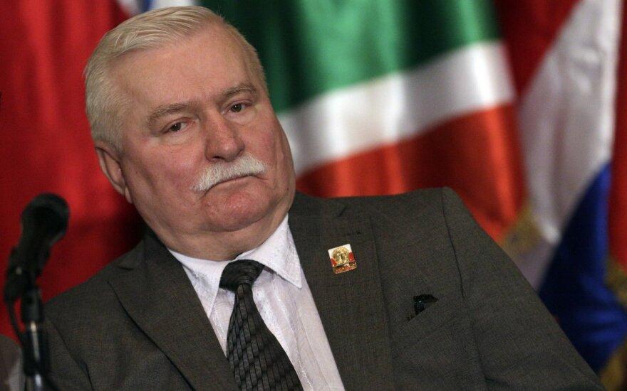 Wałęsa odpowiedział na część pytań ze słynnej listy Anny Walentynowicz 1995 roku