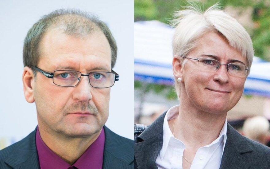 Viktoras Uspaskichas ir Neringa Venckienė