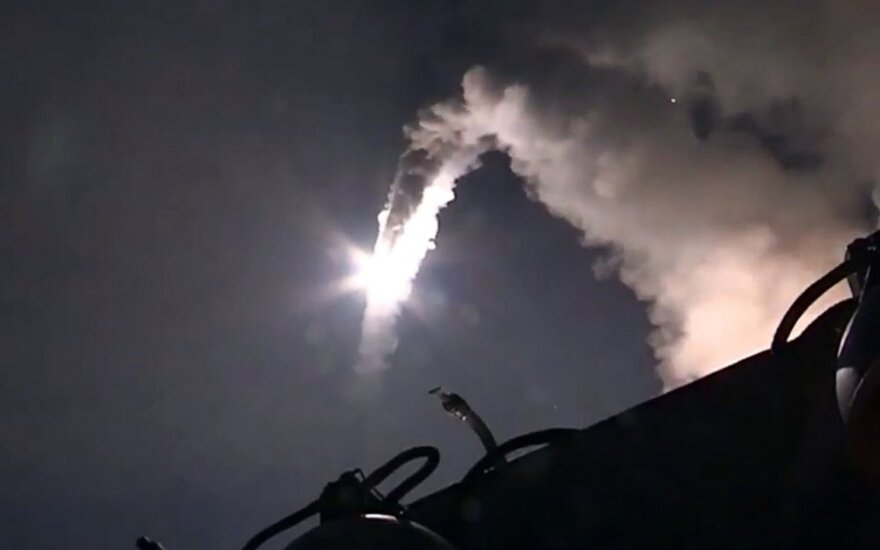 Rusijos raketos, paleistos į Siriją