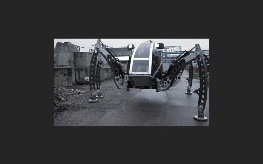 Дизельный паук Mantis - самый большой шестиногий робот в мире