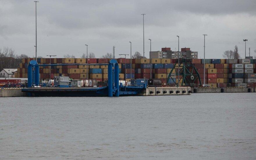 В Клайпедском морском порту – новый месячный рекорд погрузки