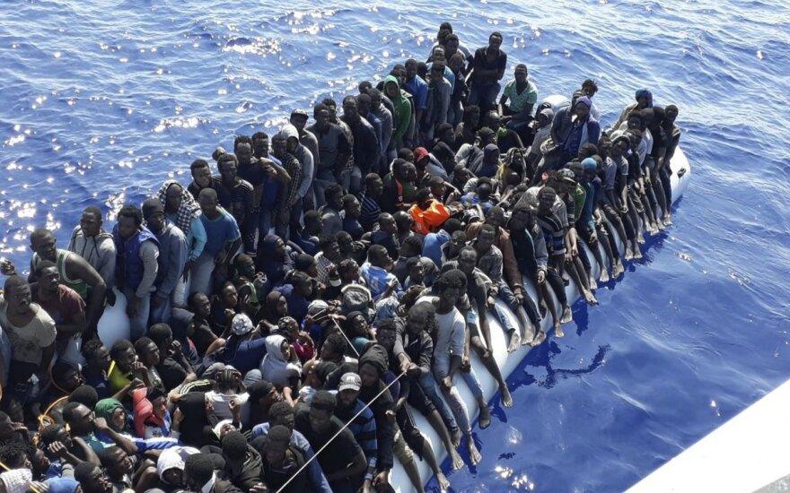 Libija patvirtino išgelbėjusi 290 migrantų Viduržemio jūroje