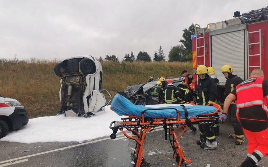 В ДТП недалеко от Паневежиса погибли два человека