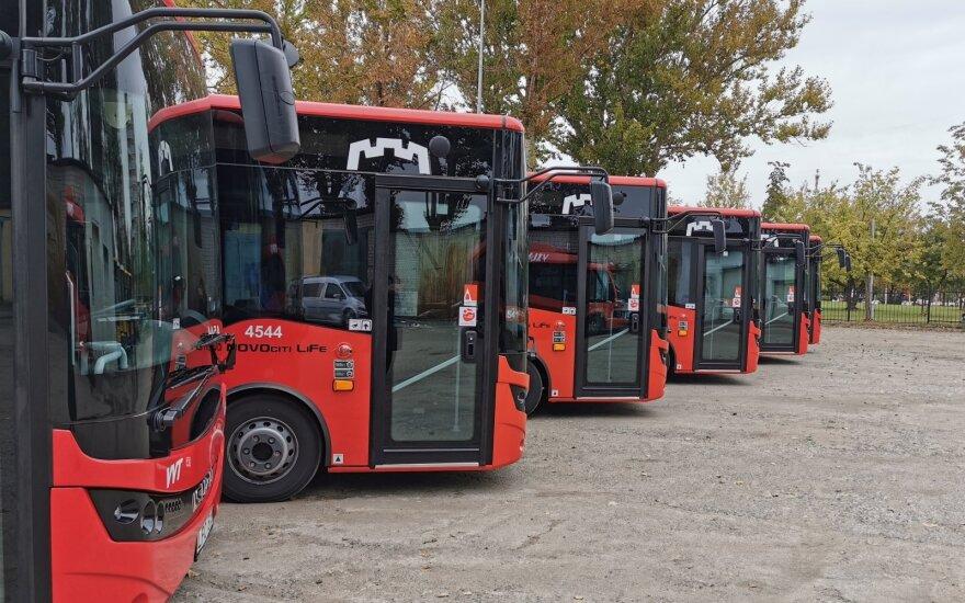 В Вильнюсе запланированы 8 новых автобусных маршрутов в пригород