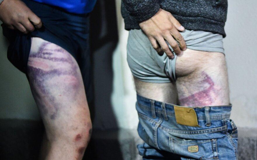Литва предлагает лечение раненым белорусским участникам протестов
