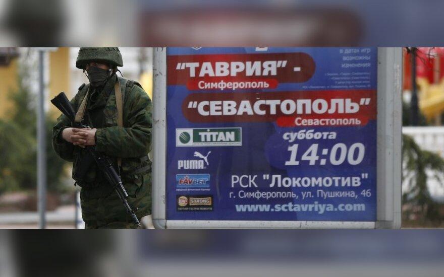 Rusai į šalies futbolo pirmenybes priėmė tris Krymo klubus