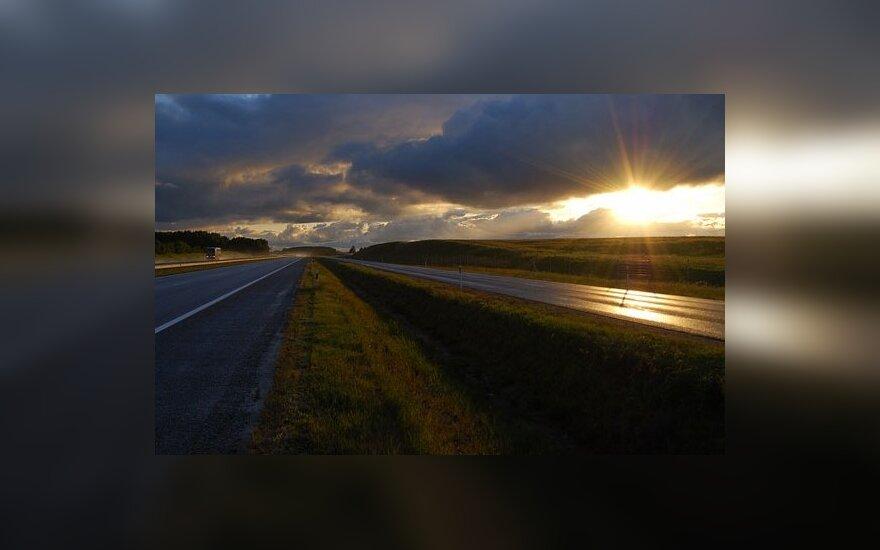 На главной магистрали Литвы - перемены