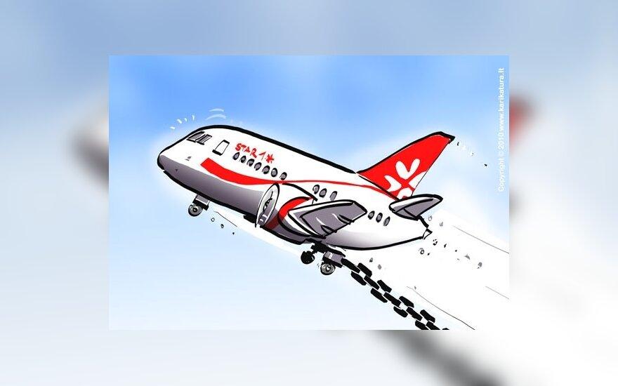 Грибаускайте: проблемы Star1 Airlines – большой ущерб экономике Литвы