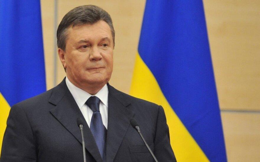 Wiktor Janukowycz: Anarchia na Ukrainie nie ma nic wspólnego z demokracją