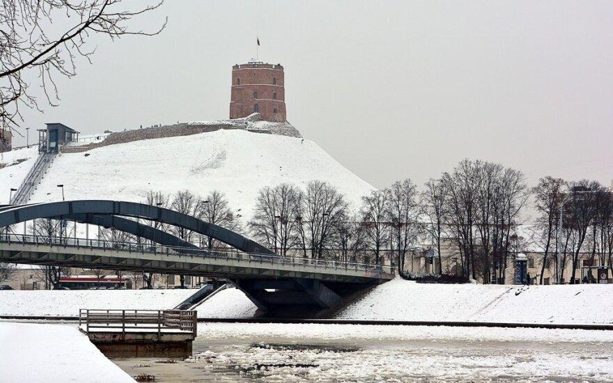 Зима преподносит Литве свои сюрпризы