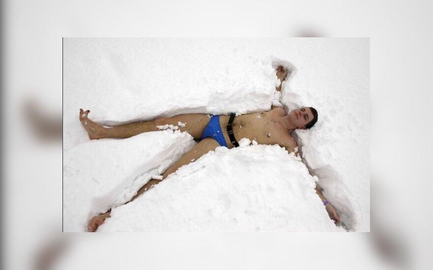 В Эстонии прошел банный марафон