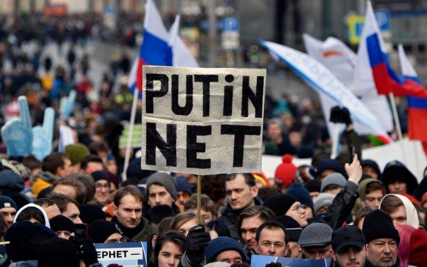 Mitingas Maskvoje už interneto laisvę