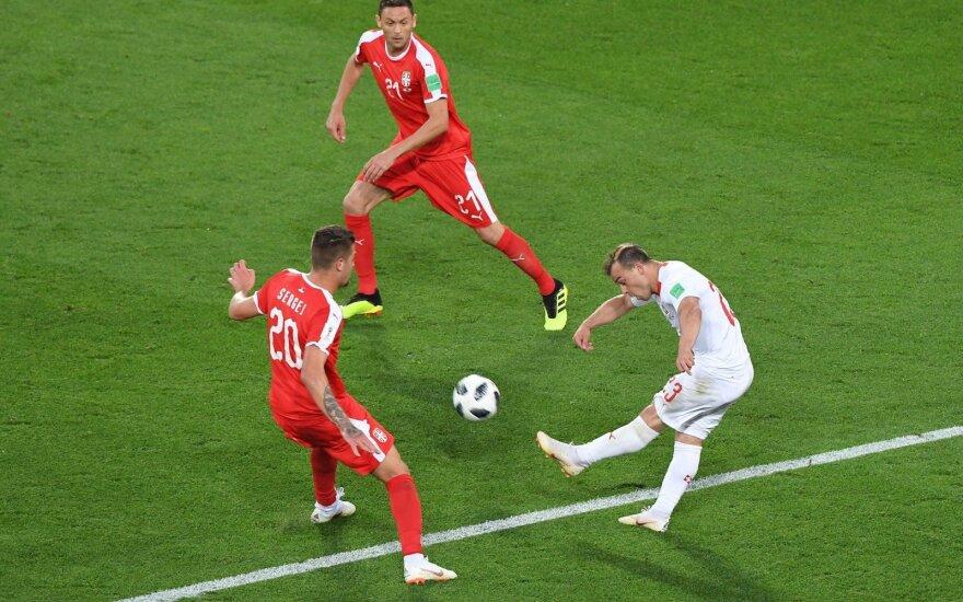 Швейцария вырвала победу у Сербии, а Бразилия в концовке одолела Коста-Рику