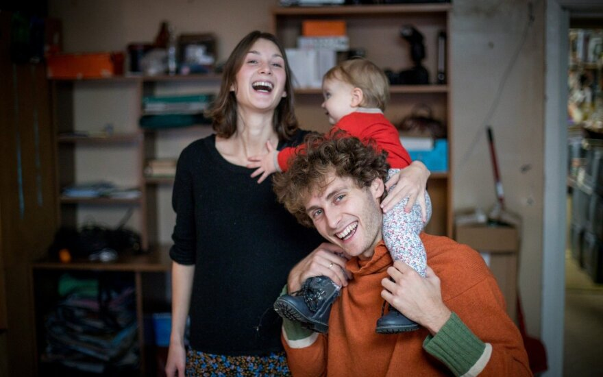 Молодые люди через 5 лет эмиграции вернулись в Висагинас: мы там не могли жить