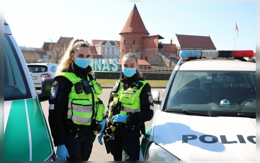 В Литве обязали носить маски, за несоблюдение требования - штраф