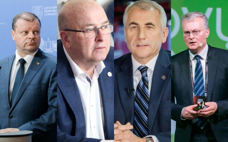 Рейтинг кандидатов в президенты: наступает время перемен
