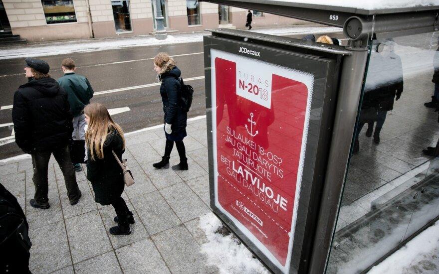 Kantar TNS: рекламный рынок Литвы в прошлом году вырос до 111 млн евро