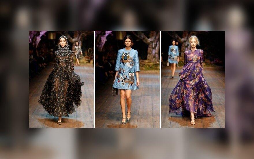 Неделя моды в Милане: Dolce & Gabbana осень 2014