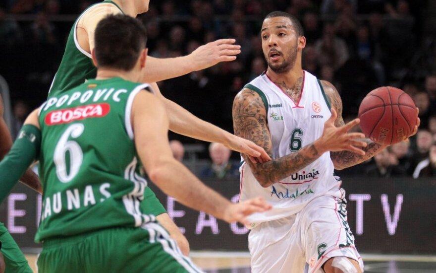 """Баскетболисты """"Жальгириса"""" одержали первую победу в ТОП-16 Евролиги"""