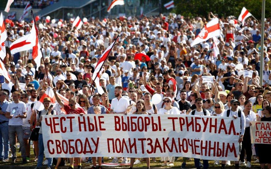 Nauja protestų banga Baltarusijoje