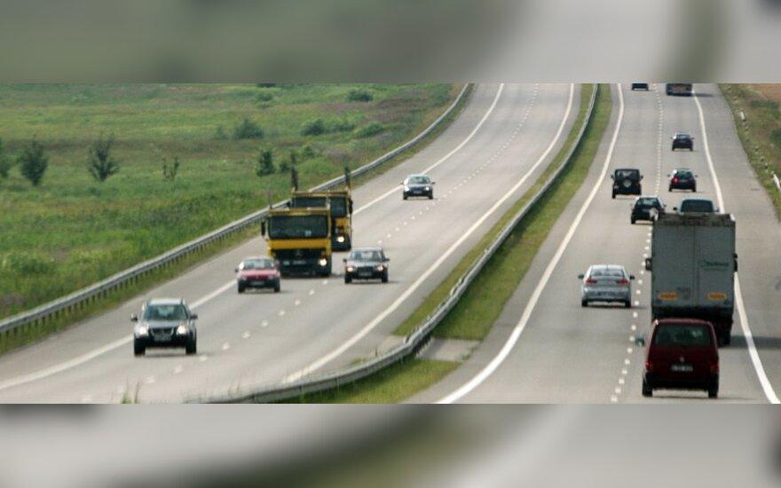 Видео: литовские магистрали для россиян ‒ гоночная трасса