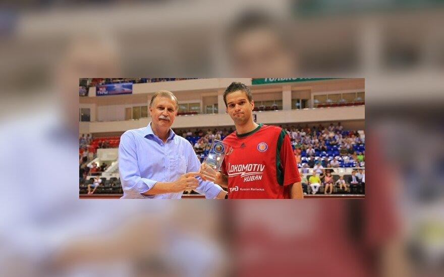 Algimantas Pavilionis ir Mantas Kalnietis (vtb-league.com nuotr.)