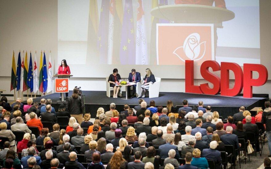 ЛСДП призывает голосовать за двойное гражданство, игнорировать референдум о количестве членов Сейма Литвы
