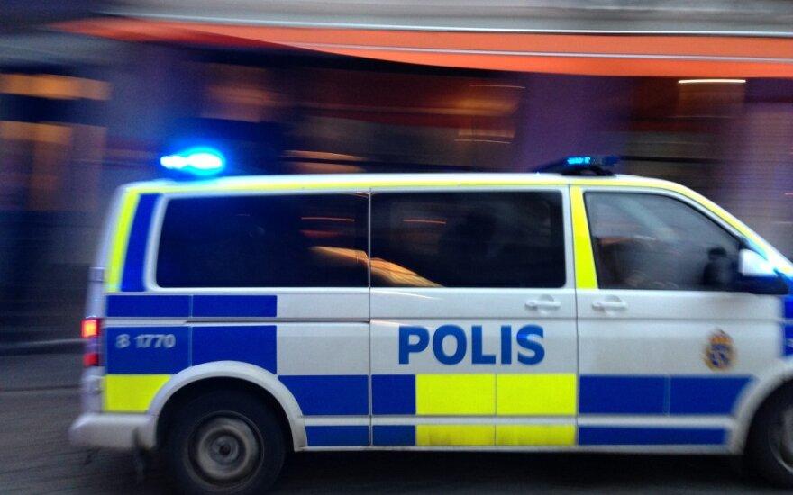 В Стокгольме возле станции метро произошел взрыв