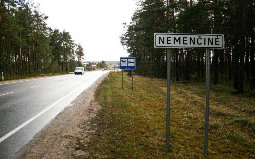Представитель полиции Литвы: изоляция Неменчине проходит спокойно, наказаны три человека