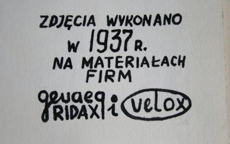 """Wilno 1937, fot. Polska Galeria Artystyczna """"Znad Wilii"""""""
