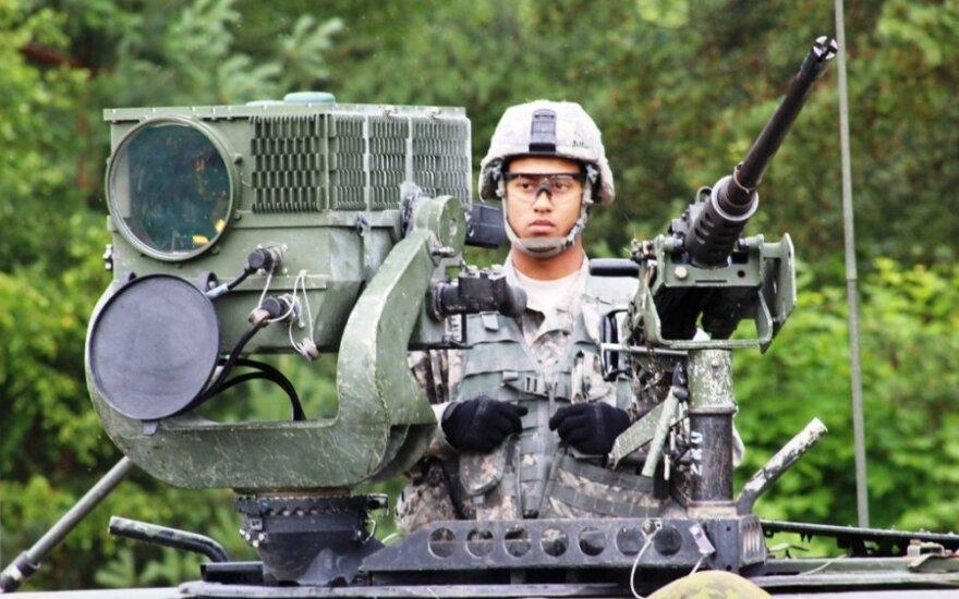 Военные США рассматривают возможность размещения в странах Балтии танков и другого вооружения